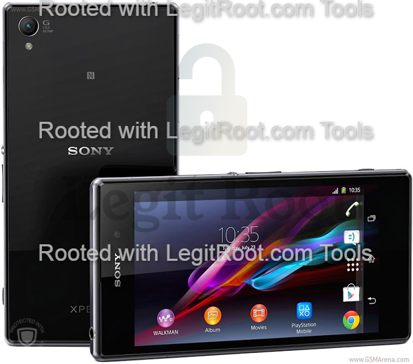 Root sony xperia z1 from pc legitroot.com