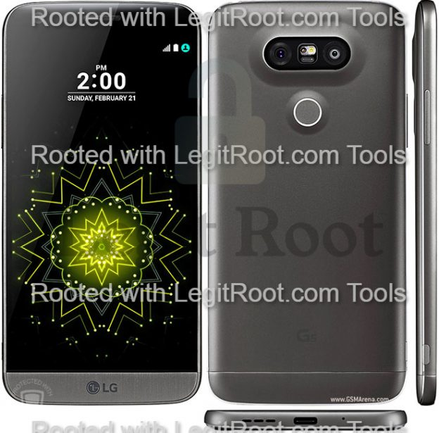 How to root lg g5 from macbook