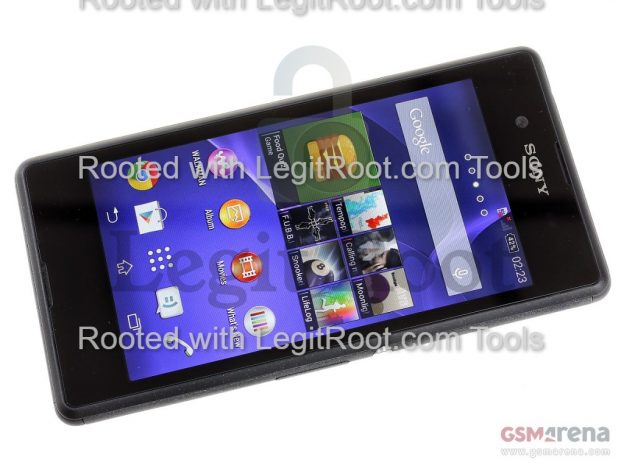 Root sony xperia e3 from pc legitroot.com