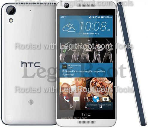 How to root htc desire 626s from macbook