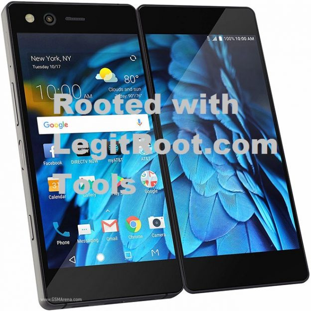 how to root zte axon m