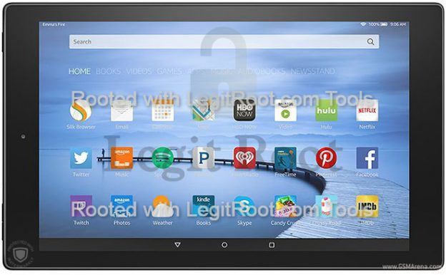 Amazon fire hd 10 one click root