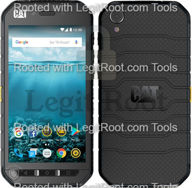 Cat s41 one click root